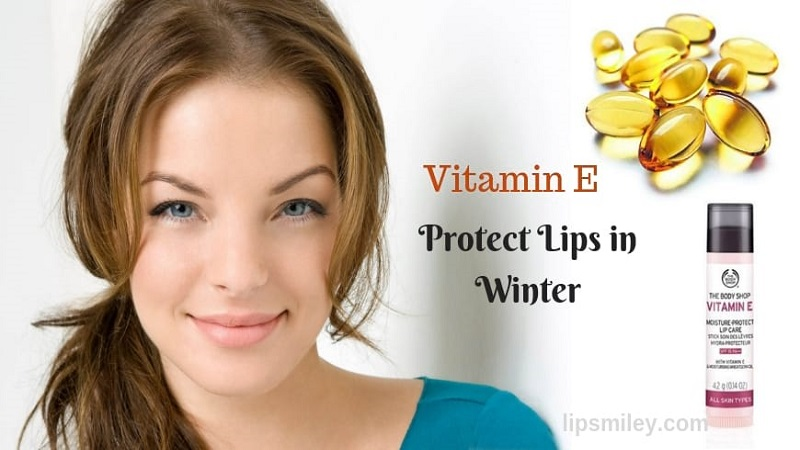 vitamin e for lips