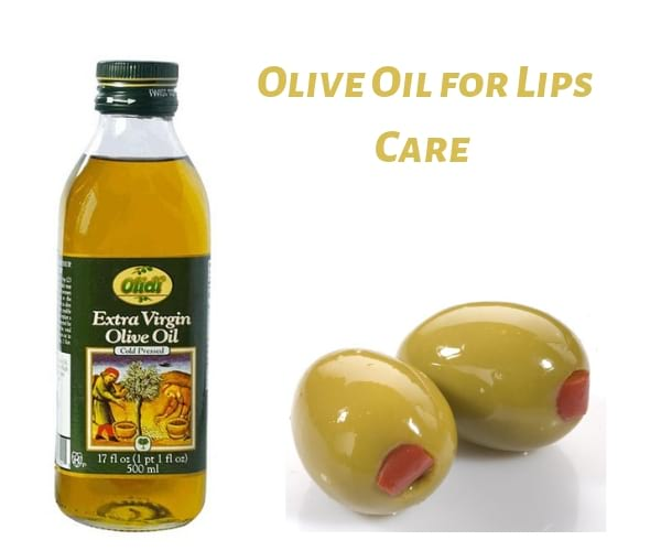 benefits of olive oil for lips